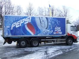 Pepsi-truck