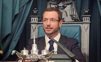 Español: Javier Maroto, alcalde de Vitoria-Gasteiz