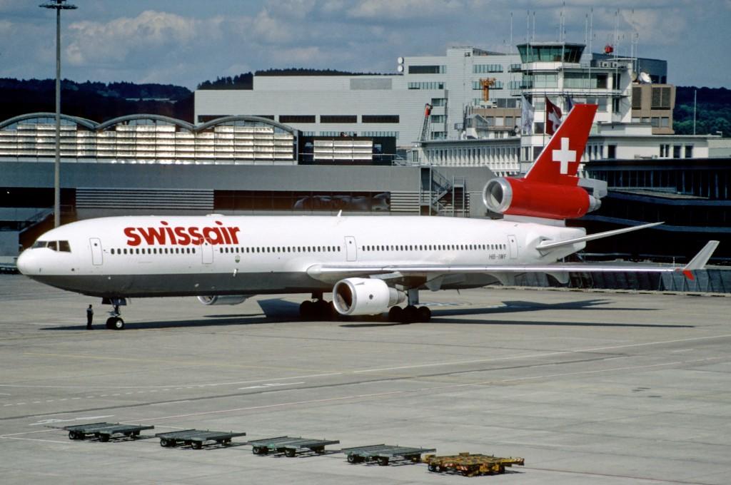 As famosas Companhias aéreas do passado 28as_-_Swissair_MD-11_HB-IWF@ZRH14.07.1998_4713082874-1024x680