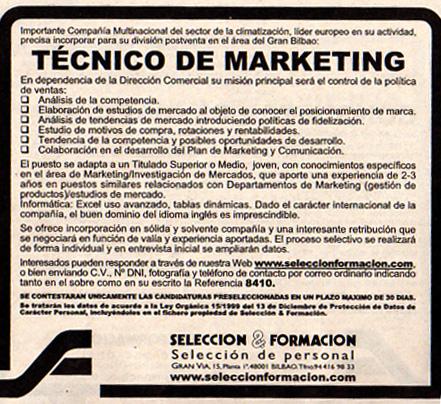 Son los buscadores de empleo la panacea de internet - Oferta de trabajo ...