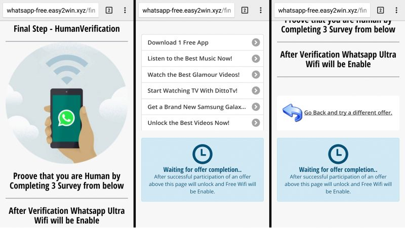 Another hoax: 'How to send WhatsApp messages without Internet'